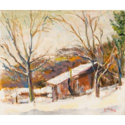 Winter Landscape (in the neighbours), 1987