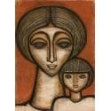 Mother with Child, 1966