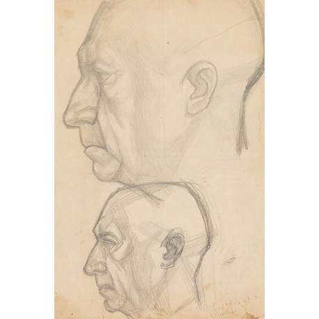 Study for a bust of Nagy Imre, 1951