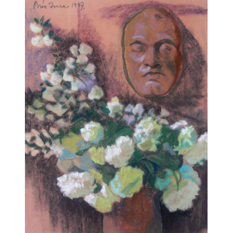 Flowers with Ady Endre's Mask, 1947