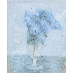Glass with Lilac, 1977